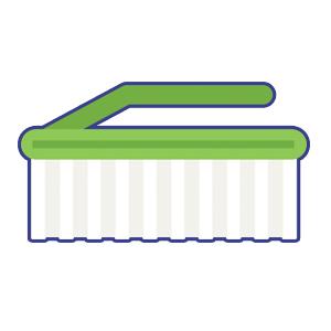 scrub brush leximaids
