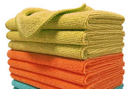 micro fiber cloth polishes well
